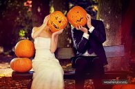 Sesja ślubna inspirowana Halloween